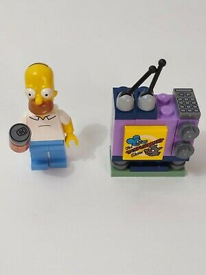 $ CDN16.99 • Buy Lego Homer Simpson Buzz Cola And Itchy And Scratchy TV Miniature