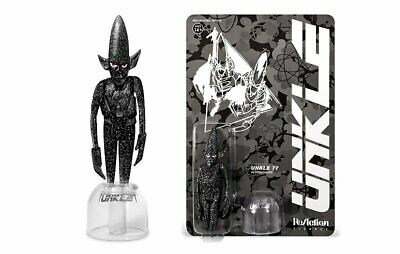 $79.88 • Buy SDCC2017 Super7 Unkle 77 Silver Funko Reaction Rare Limited Bearbrick Kubrick 4'
