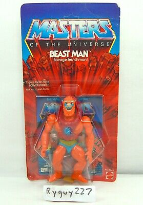 $4500 • Buy MOTU, Beast Man, 8-back, Masters Of The Universe, MOC, Sealed Figure, He Man