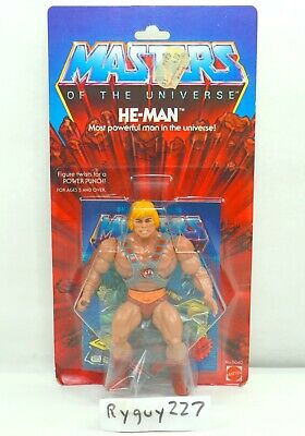 $15000 • Buy MOTU, He-Man, 8-back, Masters Of The Universe, MOC, Sealed Figure, Vintage, MOSC