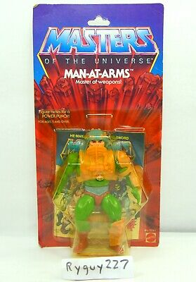 $10000 • Buy MOTU, Man-At-Arms, 8-back, Masters Of The Universe, MOC, Sealed Figure, Vintage