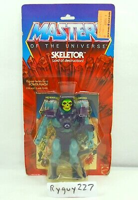 $15000 • Buy MOTU, Skeletor, 8-back, Masters Of The Universe, MOC, Sealed Figure, Vintage