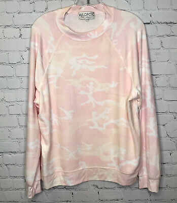 Wildfox Camo Camouflage Sommers Sweater XS • 8.73£