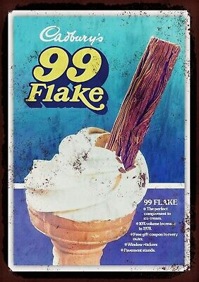 £7 • Buy Cadburys Flake 99 Metal Wall Sign