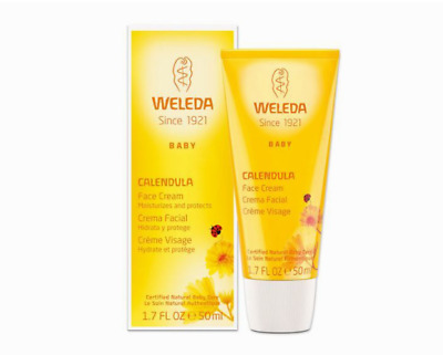 £10.99 • Buy Weleda Baby Organic Calendula Face Cream For Delicate Skin 50ml BNIB