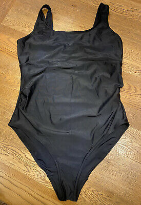 £5 • Buy Black Maternity Swimsuit Swimming Costume Size 12 Mothercare