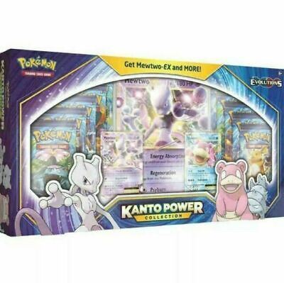 $190 • Buy Pokemon TCG: Kanto Power Collection Box Mewtwo EX 10 PACK! Xy Evolutions Sealed
