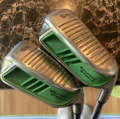 AU66.97 • Buy Two Square Strike 45* And 55* Chipper Wedges Mens RH Steel Golf Clubs