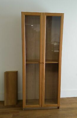 £25 • Buy IKEA BILLY BYOM Bookcase With Glass Doors - 300421-01