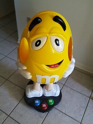 $99.99 • Buy RARE Yellow M&M's Candy Character Collectible Large 41  Store Display Figure
