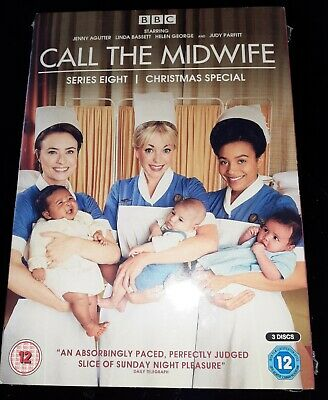Call The Midwife Series Eight And Chrisrmas Special New & Sealed  Free Shipping • 10£