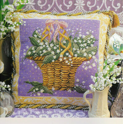 Ehrman Tapestry Kit Lily Of The Valley Candace Bahouth 1995  Retired • 40£
