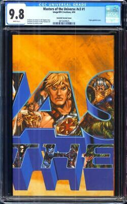 $1275 • Buy Masters Of The Universe 1 CGC 9.8 Gatefold Variant Only 3 In Census