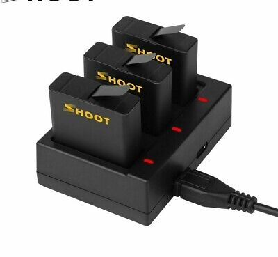 $ CDN44.66 • Buy Battery Usb Charger For Gopro Hero 8 7 6 5 Black Action Camera Battery Accessory