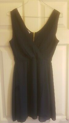 £3.50 • Buy WAL/G Navy Crossover Dress Size Small