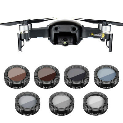 AU56.32 • Buy For DJI Mavic Air Drone ND4 ND8 ND16 CPL UV Hot Waterproof Camera Lens Filters