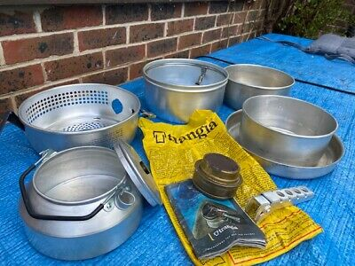Trangia Camping Stove 25- Methylated Spirit Burner, And Accessories (see Photos) • 27£