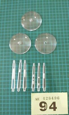 £4.75 • Buy Warhammer Round Flying Bases Round 32mm With 35mm & 30mm Stems X 3 Lot 94