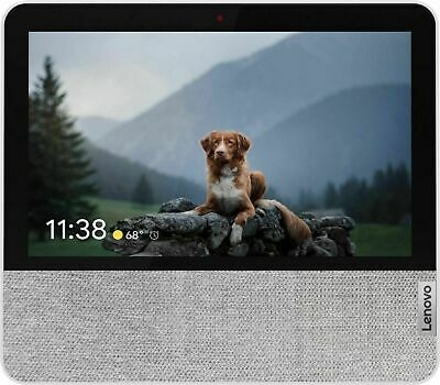 AU114.62 • Buy Lenovo - 7  Smart Display With Google Assistant - Blizzard White