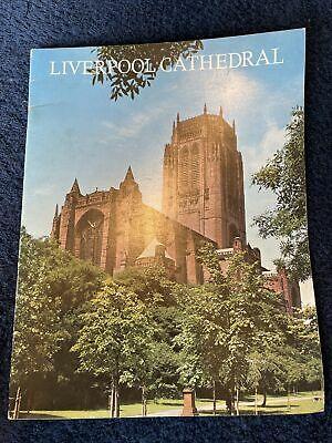 Liverpool Cathedral Guide 1976 Paperback • 2£