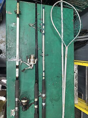 AU15.19 • Buy Fishing Rods Assorted And Net