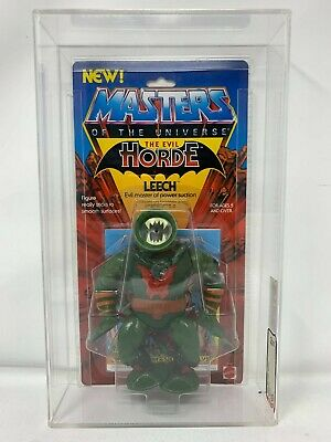 $999.99 • Buy MOTU Masters Of The Universe LEECH Action Figure Series 4 AFA 80 NM (1985)