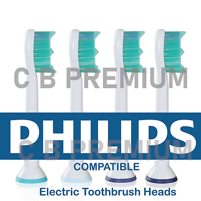 AU6.22 • Buy Electric Toothbrush Heads Compatible With Philips Sonicare Heads Phillips Head