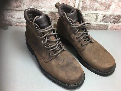 £45 • Buy Rockport Mens Brown Leather Boots Size10 W