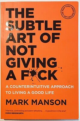 AU22.90 • Buy The Subtle Art Of Not Giving A F**k By Mark Manson, 2016 (As New)