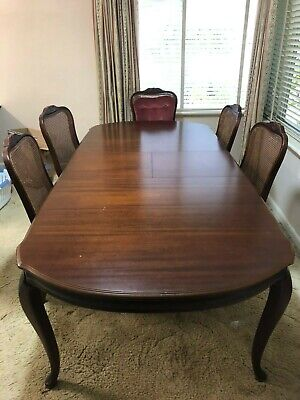 AU200 • Buy T H Brown Australian Extendable Dining Table And Chairs