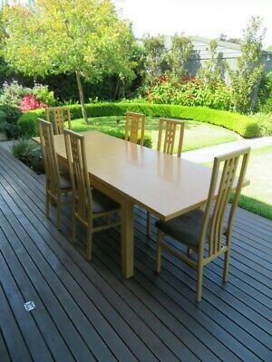 AU245 • Buy Extendable Dining Table And 6 Chairs