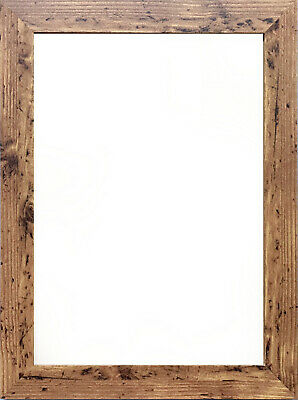 £3.25 • Buy A1 A2 A3 A4 A5 Photo Frame Effect Picture Frame Poster Size Frame Rustic Walnut