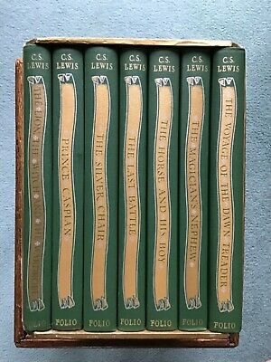 £140 • Buy Folio Boxed Set Of CS Lewis' The Chronicles Of Nania Books - 1996 - Excellent