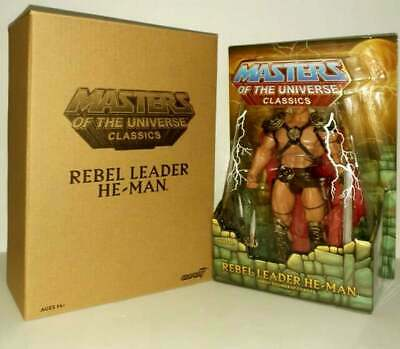 $105 • Buy Rebel Leader He-Man Masters Of The Universe Classics Super 7 Dolph Lundgren NEW