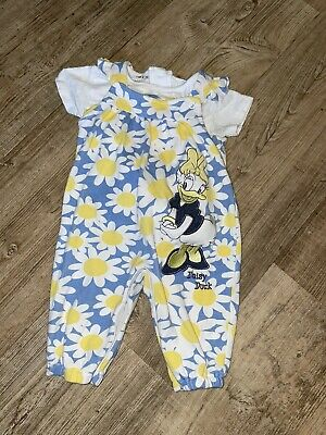 Baby Girl Daisy Duck Outfit 3-6 Months  • 2£