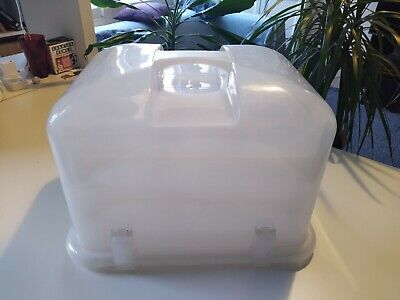 36 Cupcake Carrier, 3 Removable Tiers, Cake Plastic Storage And Travel Holder • 12£