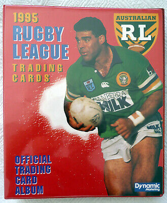 AU10000 • Buy 1995 NRL RUGBY LEAGUE TRADING CARDS 1 Of Only 10 Sets Issued Very Rare With COA