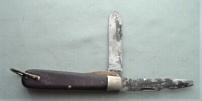 $12 • Buy Vintage Tight M. Klein Tools Composition Handle Electricians Two Blade Knife