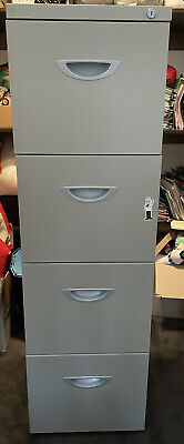 AU30 • Buy Lockable 4 Drawer Filing Cabinet. Fits A4 Files. Pick Up 3034