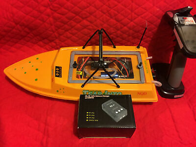 $ CDN337.37 • Buy Nqd Yellow Rtr Brushless Rc Jet Watercooled Boat 11.1 Volt 3s **super Fast**
