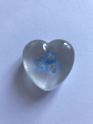 £2.95 • Buy SECONDS Forget Me Not Pocket Hug, 'thinking Of You ' Gift