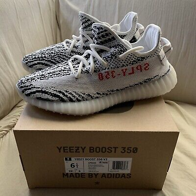 $ CDN598.93 • Buy Adidas Yeezy Boost 350 V2 Zebra - New Size 6.5 Ships ASAP 100% Authentic