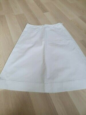 £16.99 • Buy Boden White A Line Chino Skirt Size 6R-WG591