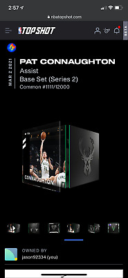 $0.99 • Buy Pat Connaughton NBA Top Shot Assist Common 1111/12000 Series 2 NFT Bucks '21