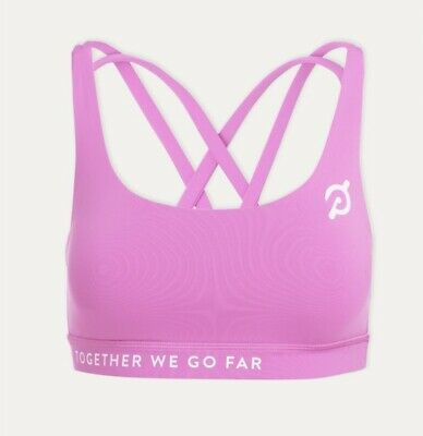 $ CDN72.79 • Buy Peloton Lululemon Together We Go Far Bra Size 12 Pink