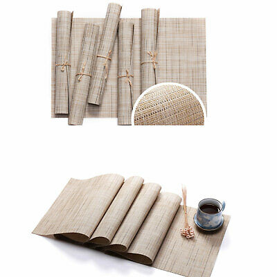 AU37.27 • Buy PVC Placemat Dining Table Runner Place Mats Kitchen Home Decor Washable Non Slip