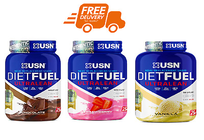 £21.49 • Buy USN Diet Fuel Meal Replacement Weight Loss Shake 1-2kg Slimming Shake!!