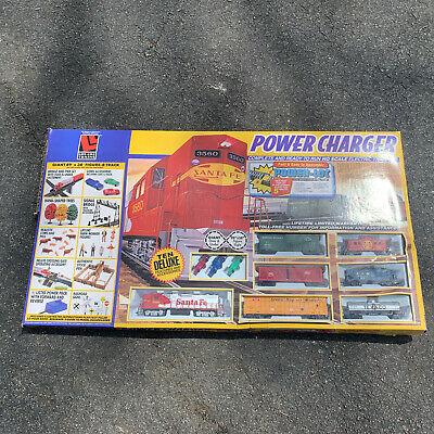 $ CDN206.22 • Buy Life-Like  POWER CHARGER  HO Electric Train Set New In Box Complete Beautiful