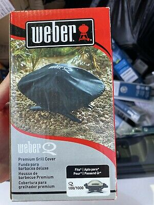 $ CDN12.70 • Buy Genuine Weber 7110 Premium Grill Cover For WeberQ 100/1000 Grill NIB
