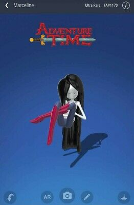 $0.99 • Buy Veve NFT Ultra Rare Series 1 Marceline From Adventure Time! Serial Number 1170